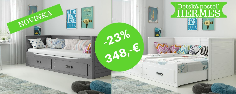 Novinka-uvádzacia cena posteľ Hermes