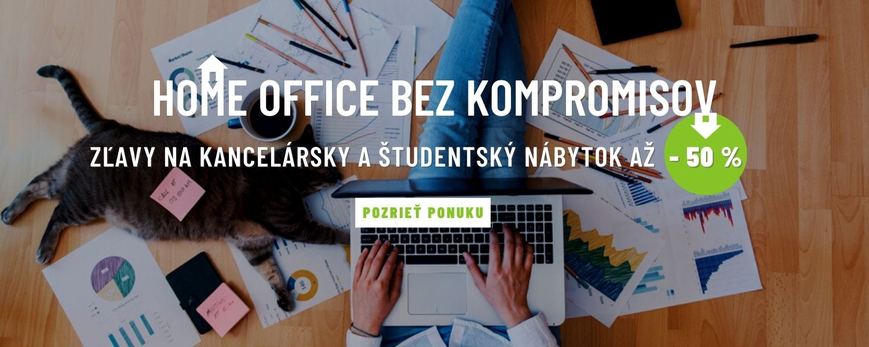 Nábytok pre home office a domáce vzdelávanie