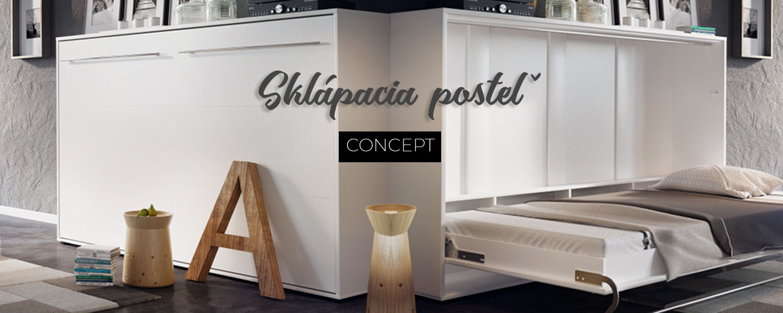 Sklápacia posteľ Concept