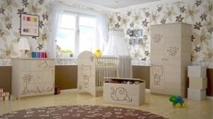 Detská izba Boo s výrezmi