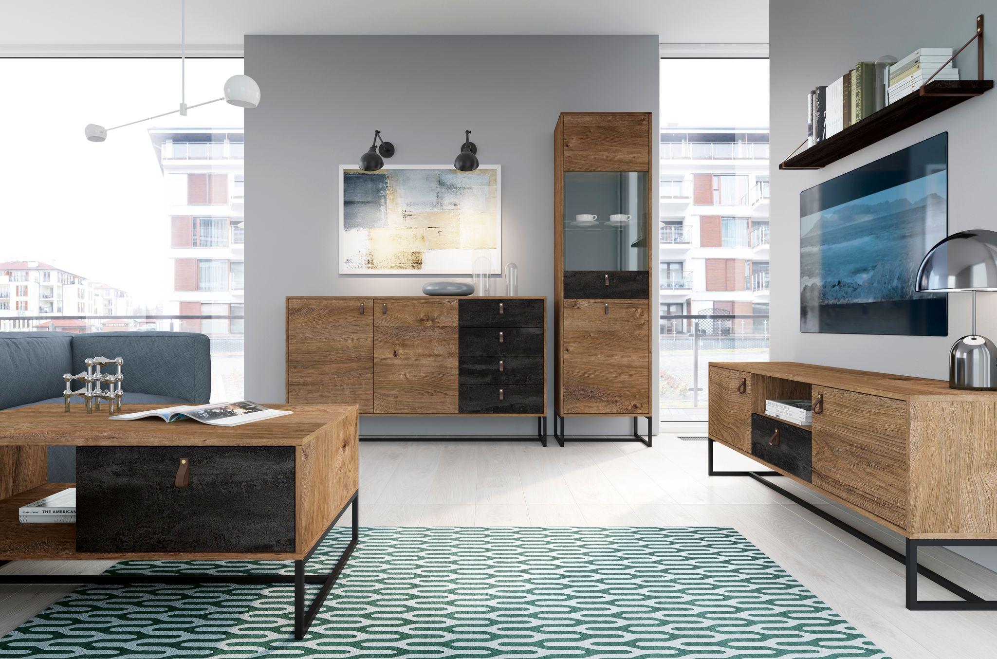 Luxusný sektorový nábytok DARK