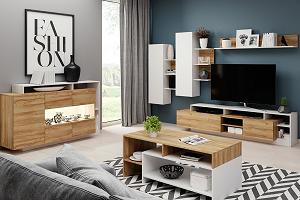 Moderné obývacie steny