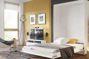 Sklápacie postele na výšku
