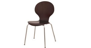 Stoličky kovové drevené