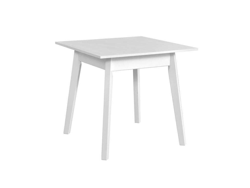 prakticky biely stvorcovy jedalensky stol OSLO 1