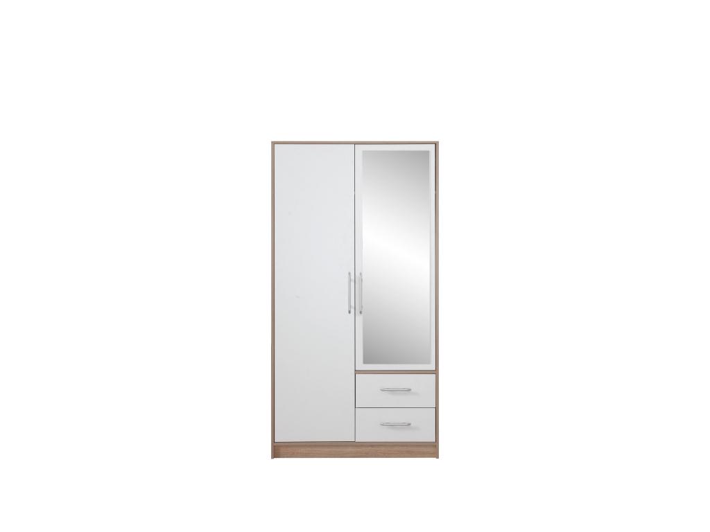 priestrana satnikova skrina so zrkadlom SMART SRL3 srl3