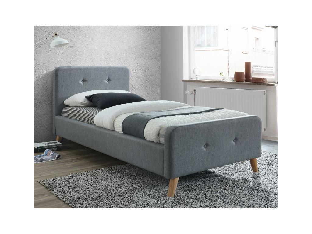 0772b4360361 Čalúnená jednolôžková posteľ MALMO - mojnabytok.sk