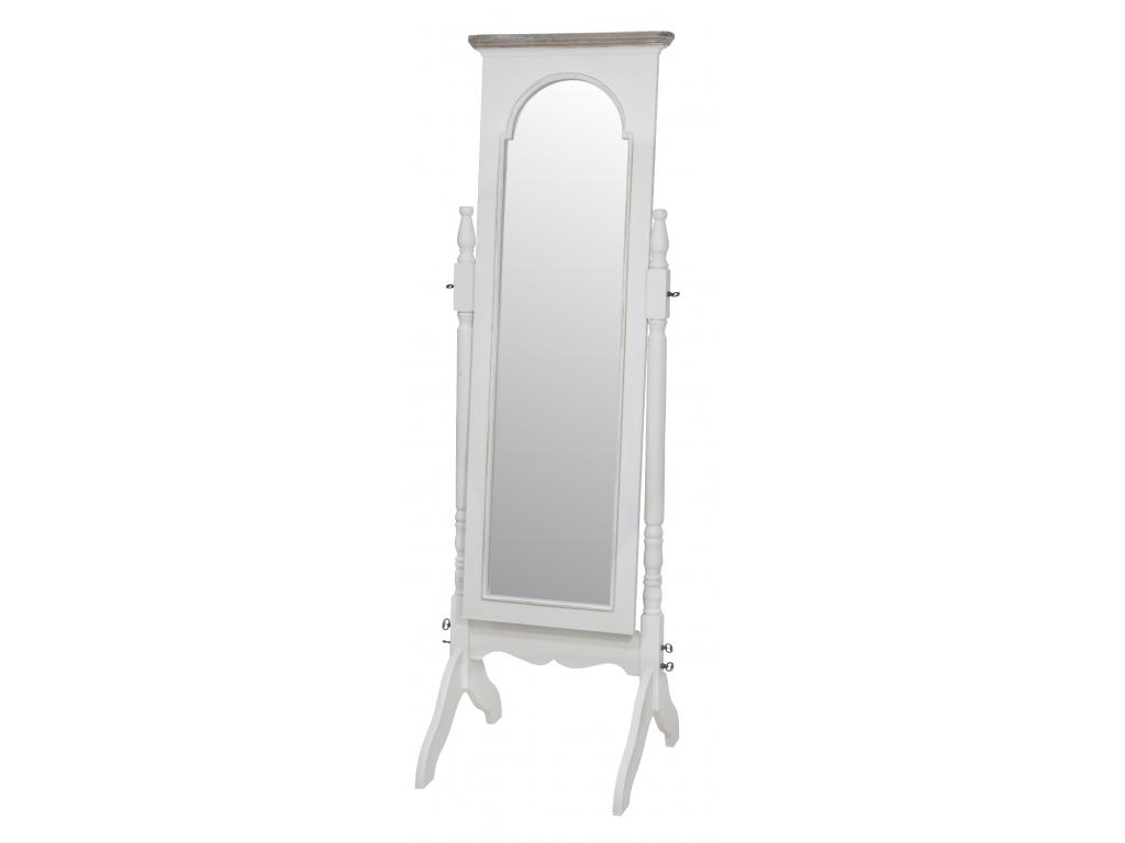 provensalske biele zrkadlo RAVENNA RA025