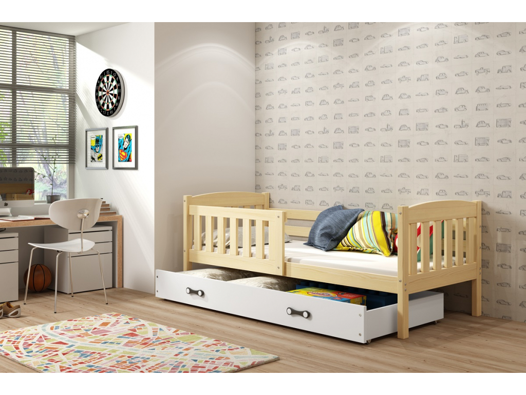 Detská posteľ Kubuš borovica