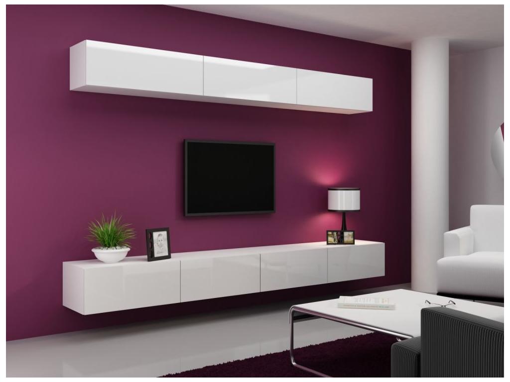 Obývacia stena VIGO 13 biela biela 2