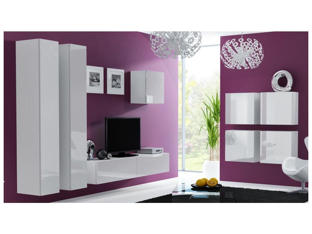 Obývacia stena VIGO 24 biela biela