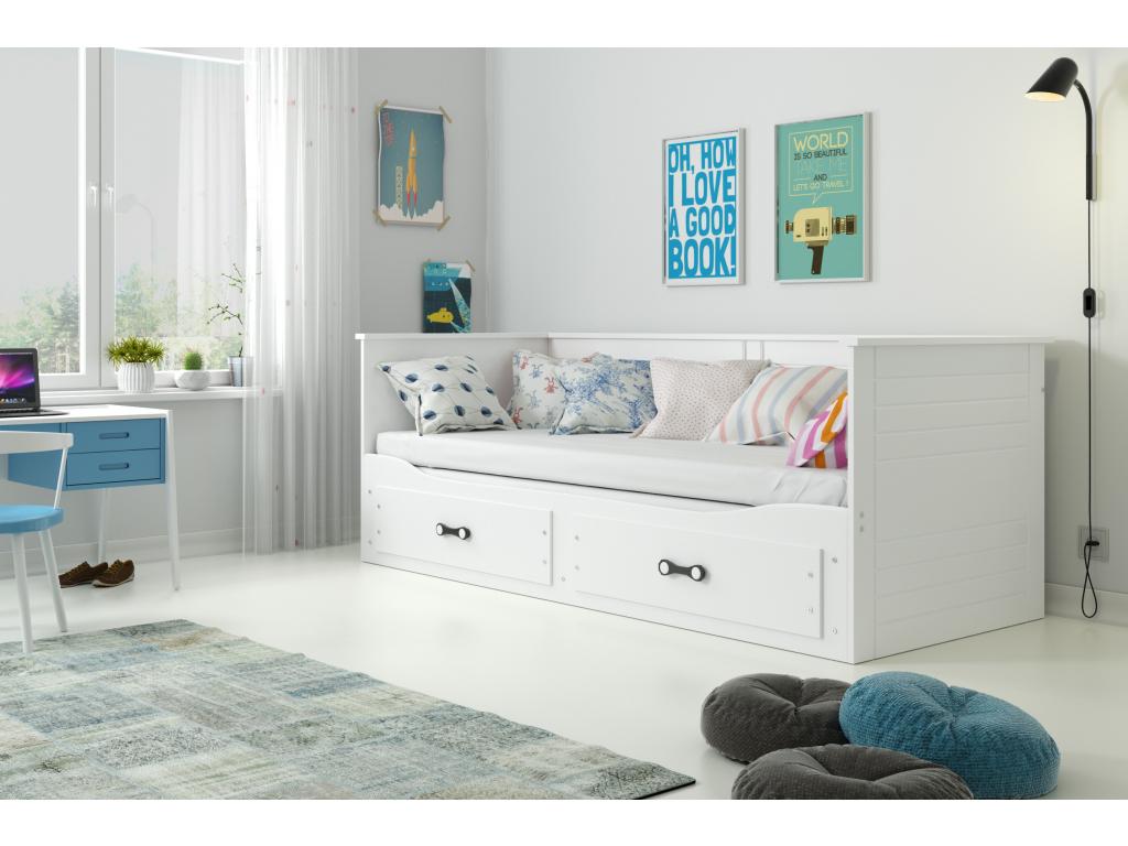 Detská posteľ Hermes biela