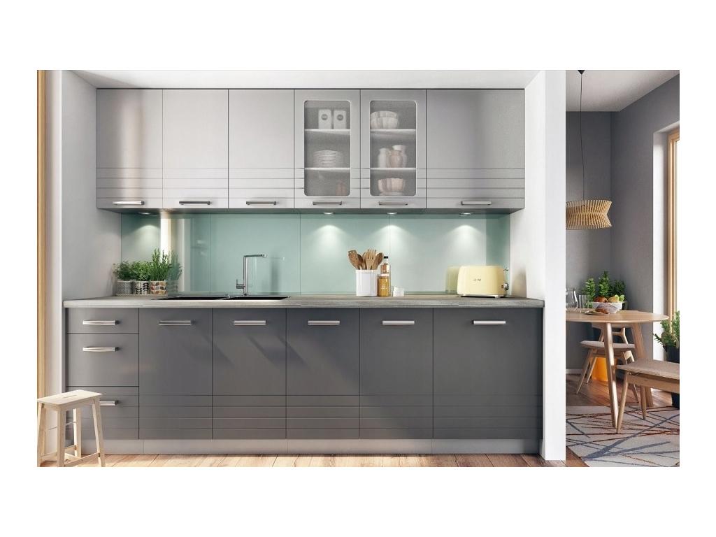 Kuchyna Paula siva 260
