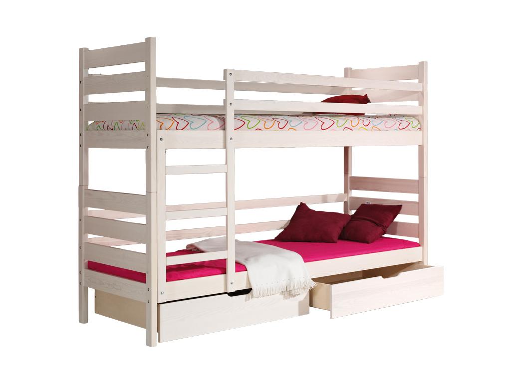detska drevena poschodova postel DAREK