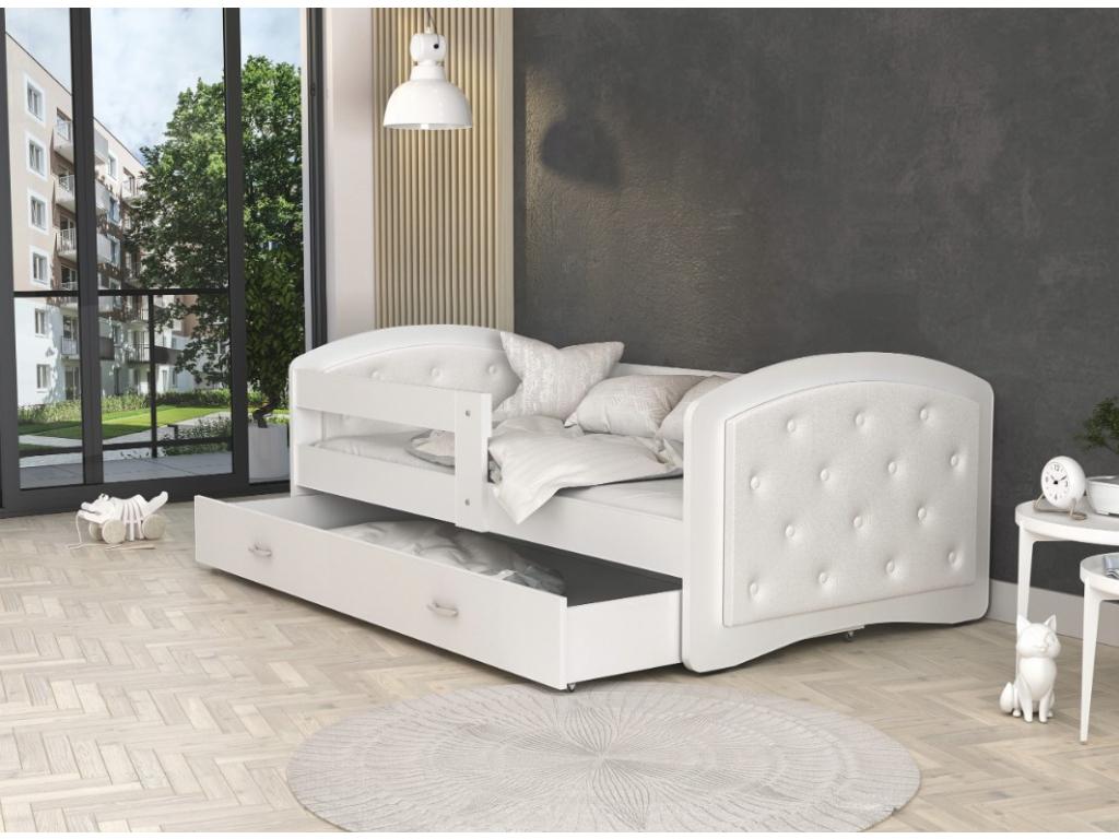Detská posteľ Megi biela (2)