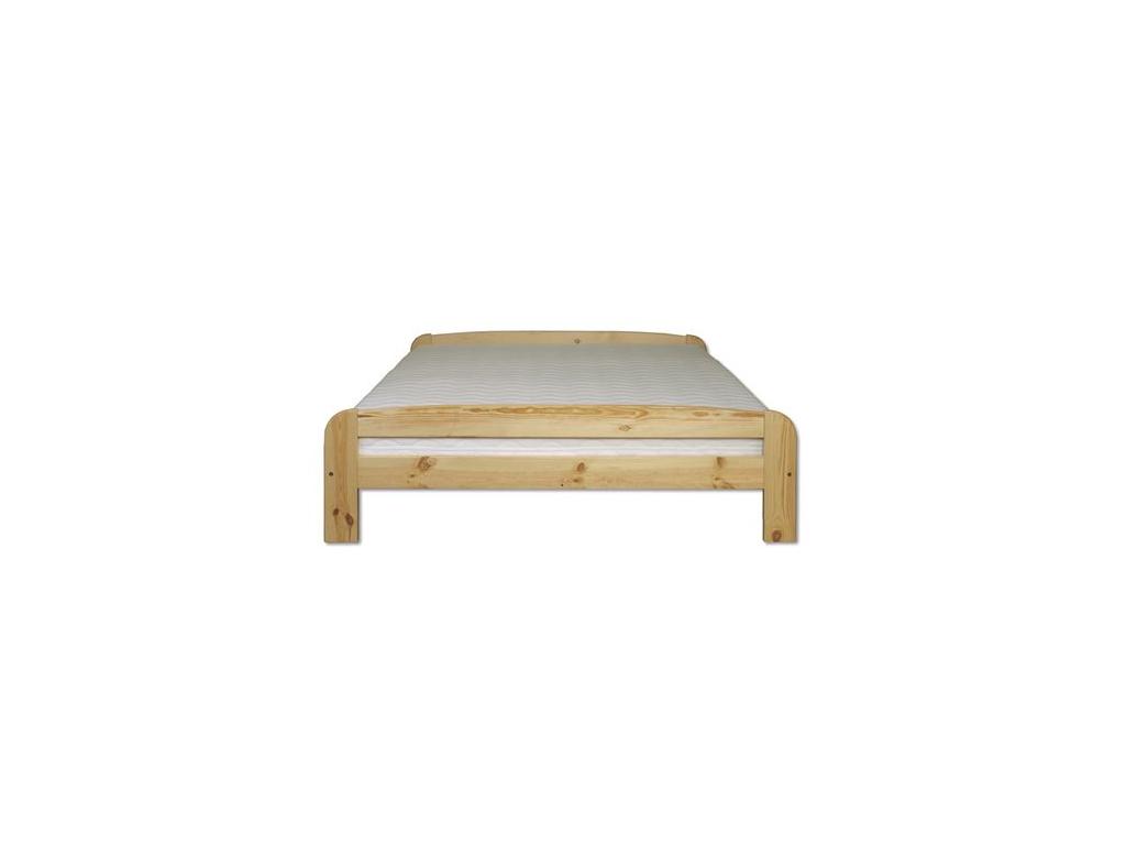 Jednolôžková posteľ - masív LK108   120cm borovica
