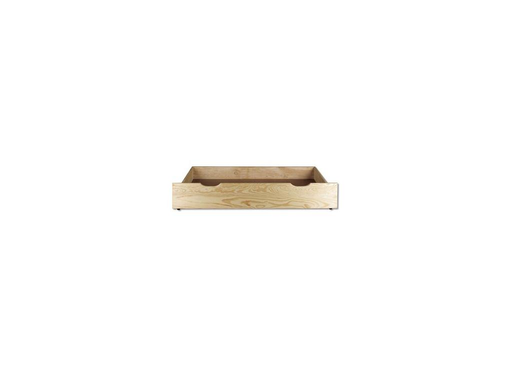 Úložný box pod posteľ - masív LK151   borovica