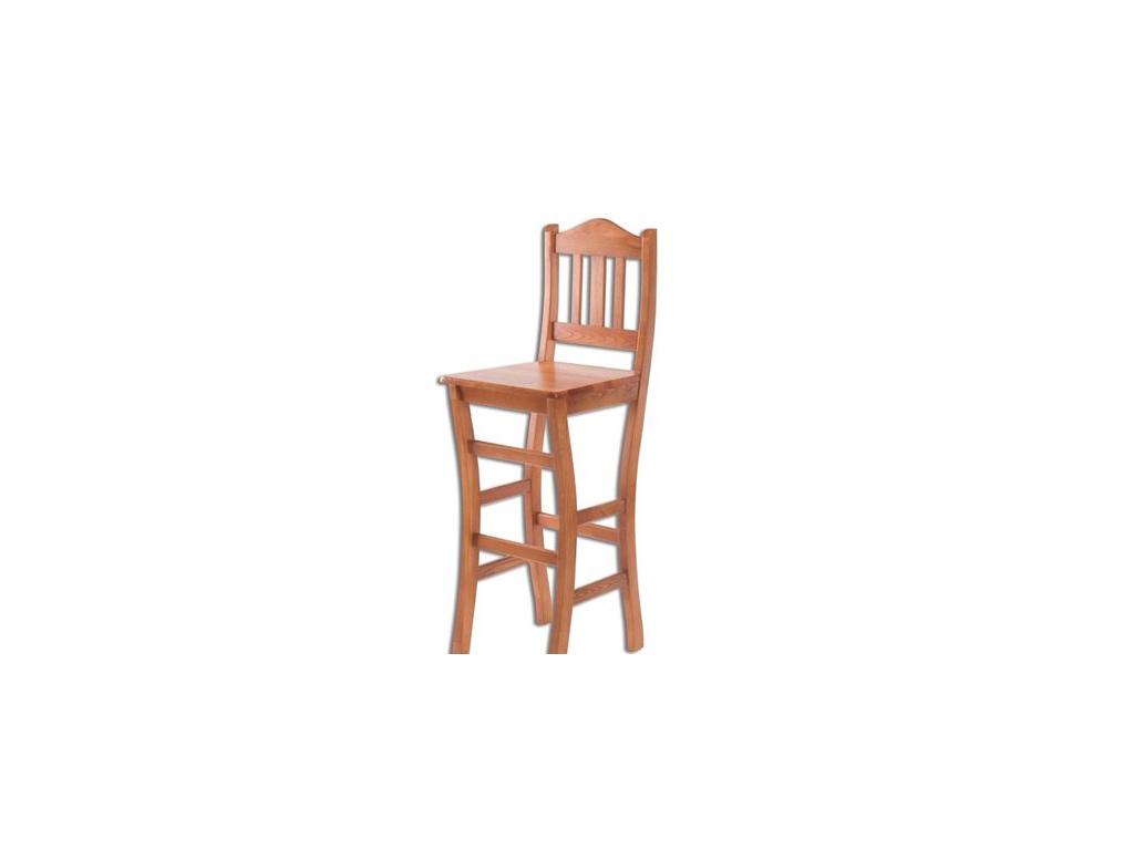 Barová stolička - masív KT111 | borovica