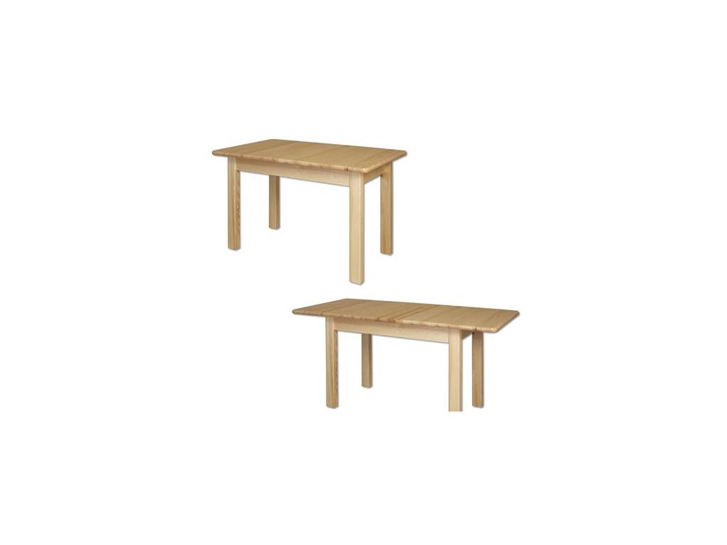 Stôl - masív ST101   155cm borovica