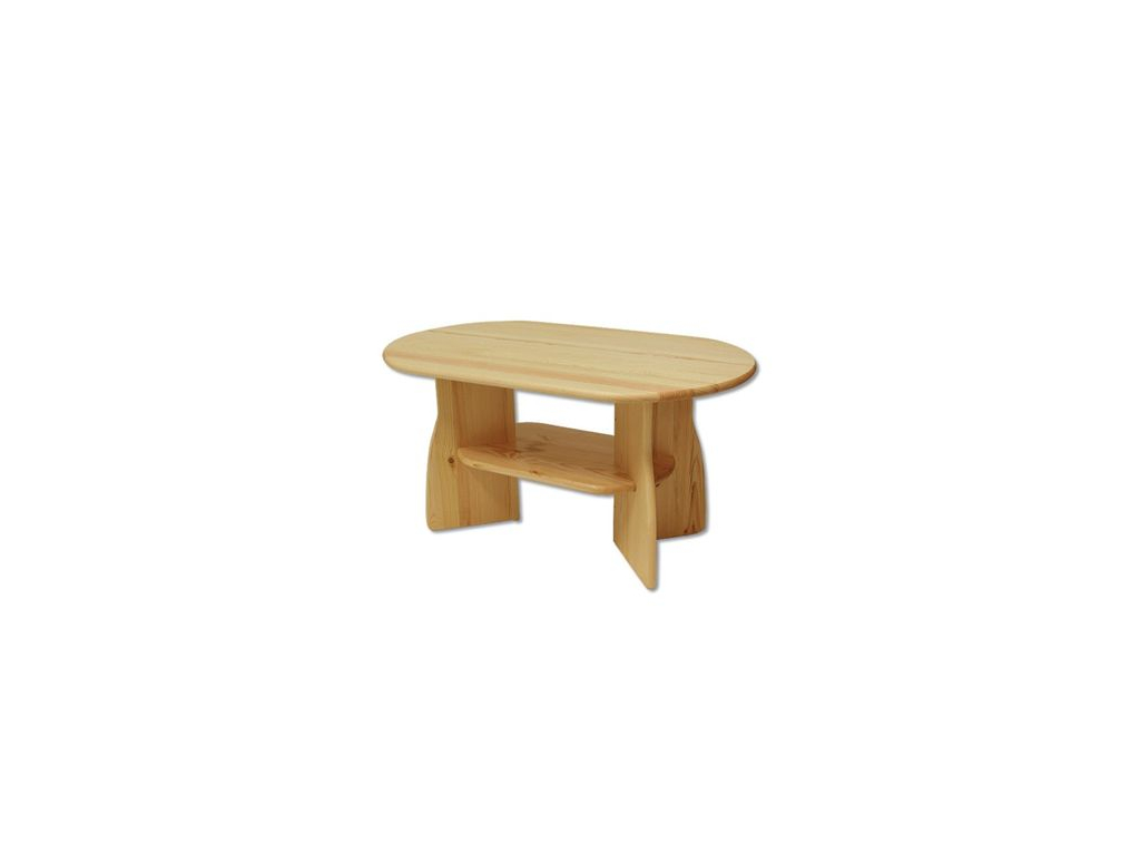 Konferenčný stolík - masív ST112 | borovica
