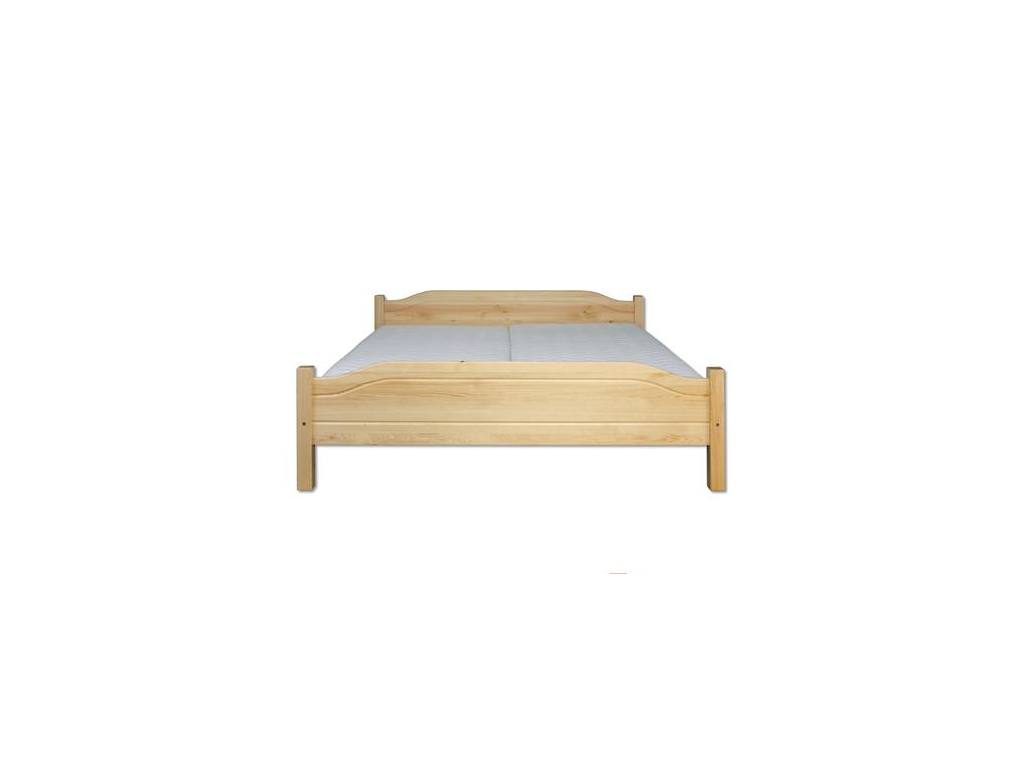 Jednolôžková posteľ - masív LK101   120cm borovica