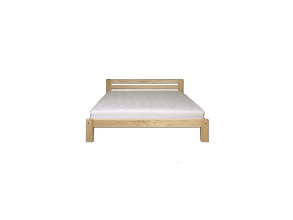 Manželská posteľ - masív LK105   160cm borovica