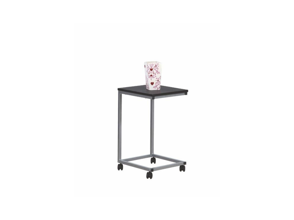 Príručný stolík MANNY čierna
