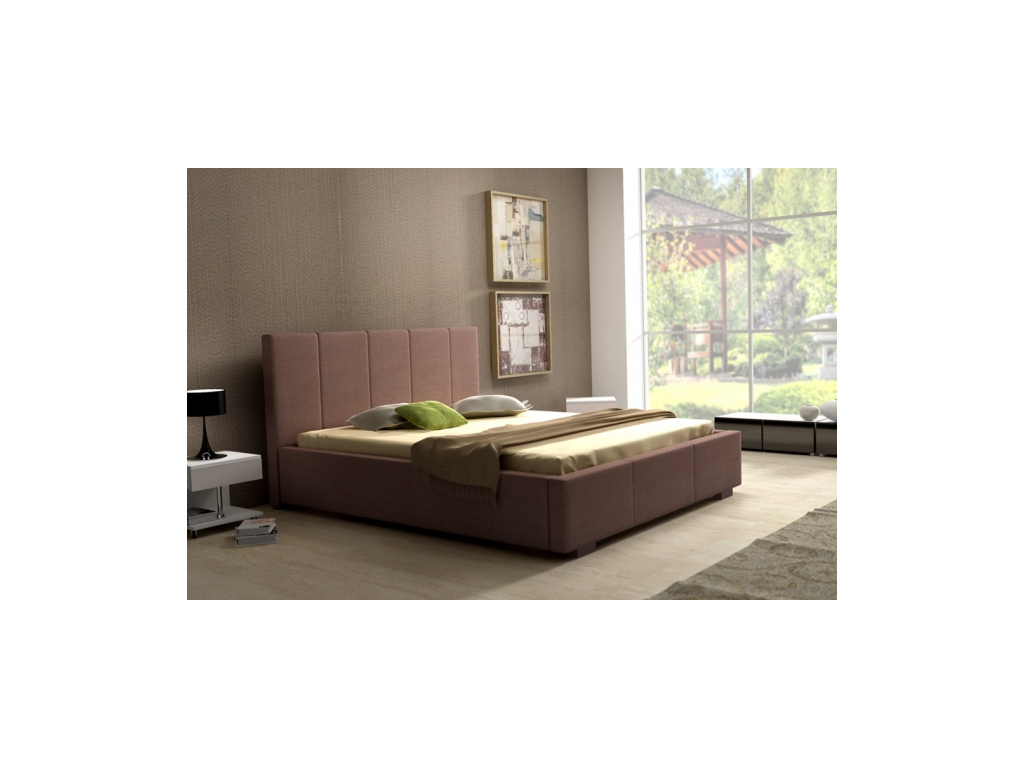 805fcd1329e7 Čalúnená manželská posteľ Vanessa - mojnabytok.sk
