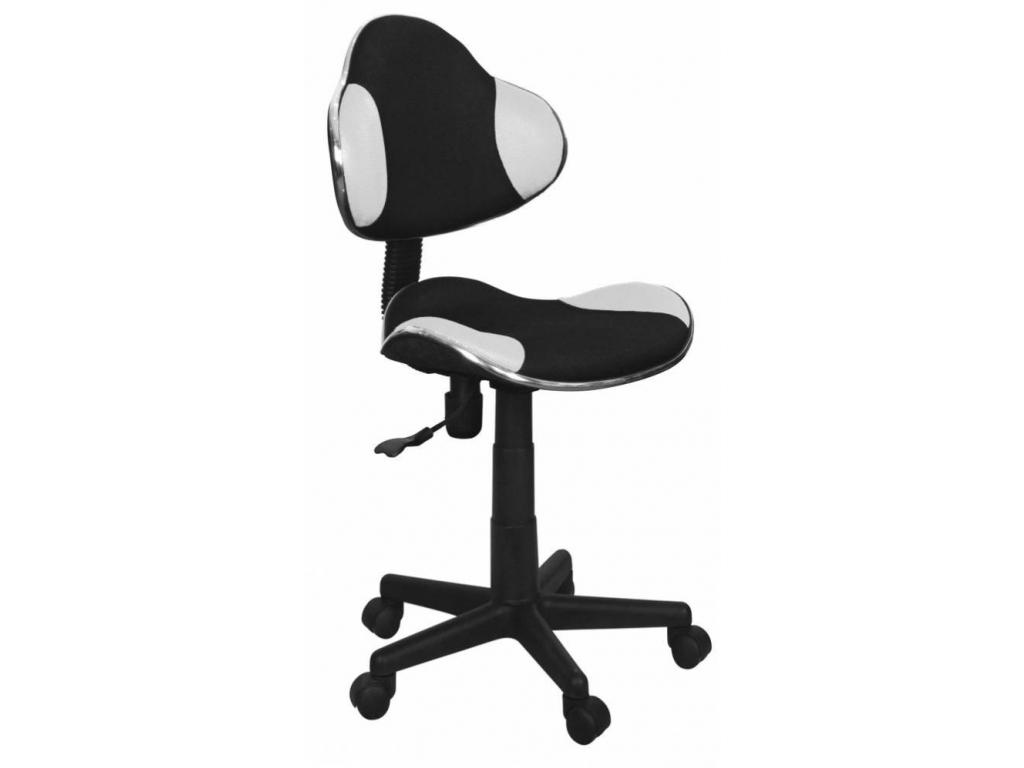 Detská stolička Q-G2 čierno-biela