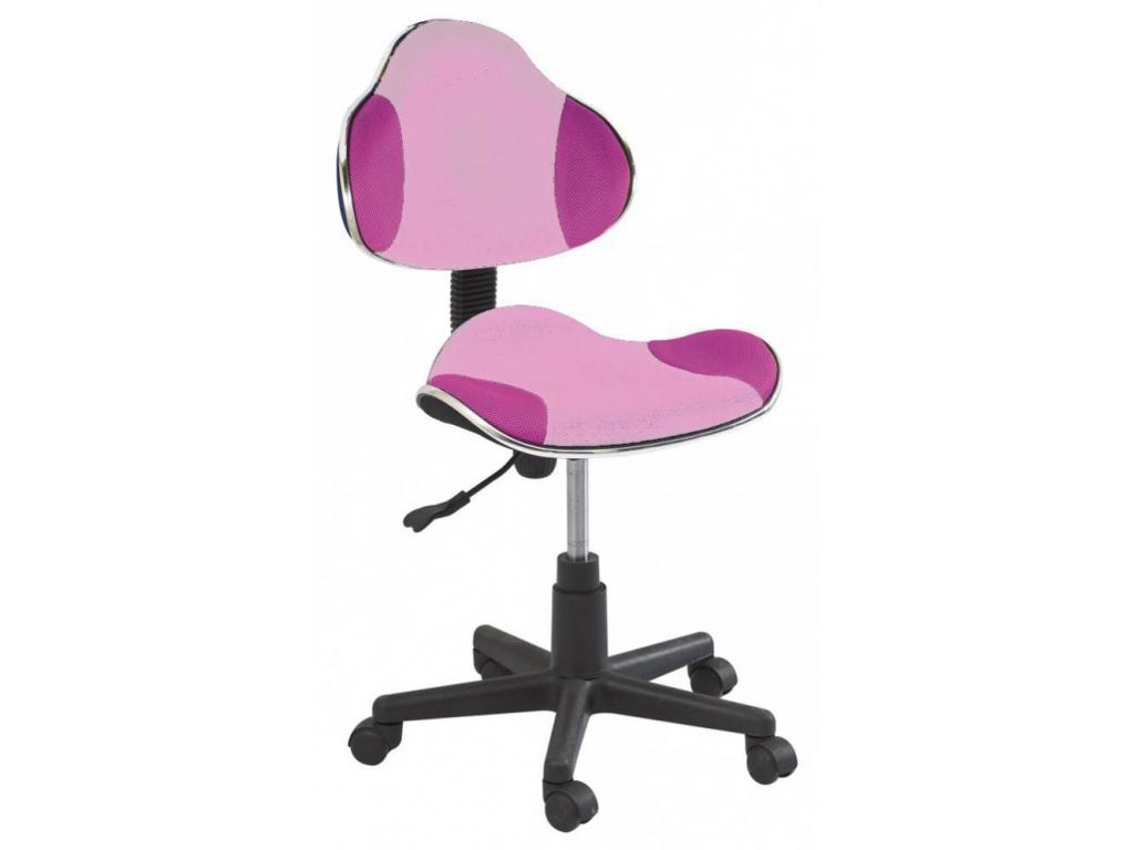 a1ea4065b6ad Detská stolička Q-G2 látka ružová
