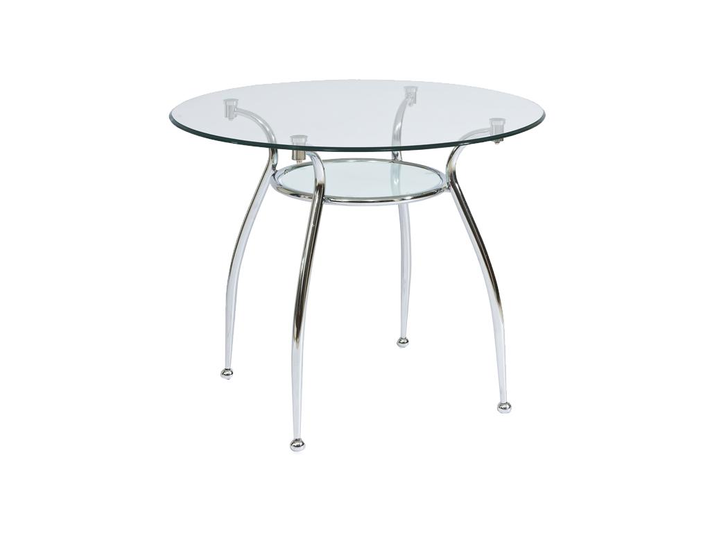 Okrúhly jedálenský stôl FINEZJA A