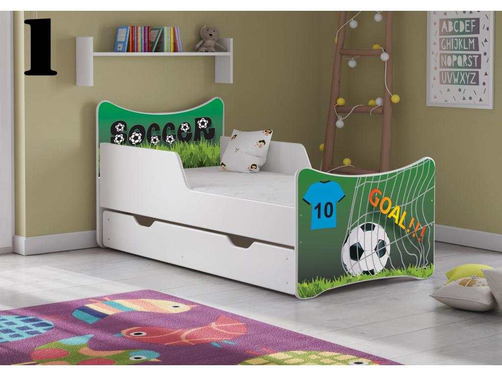 Detská posteľ SMB BIG - chlapci