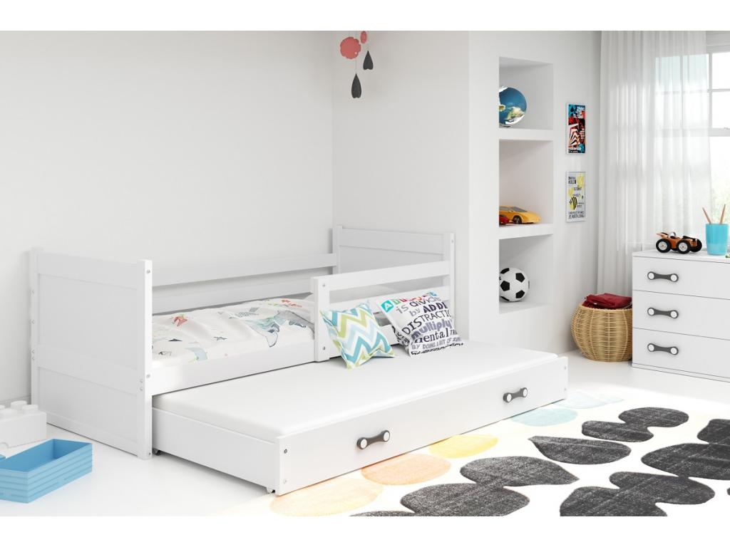 Detská posteľ RICO 2 / BIELA 200x90
