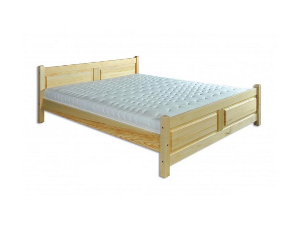 Manželská posteľ - masív LK115 / 180 cm borovica