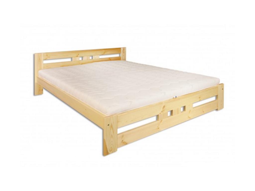 Manželská posteľ - masív LK117 / 160 cm borovica