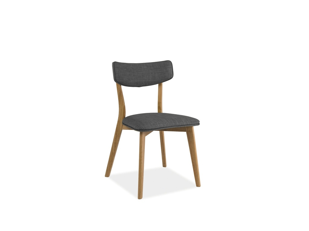 Jedálenská stolička KARL / sivá