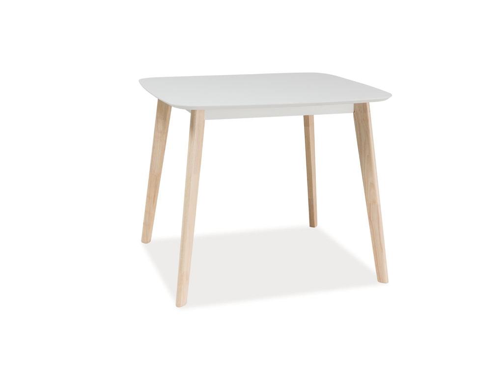 moderny biely jedalensky stol TIBI