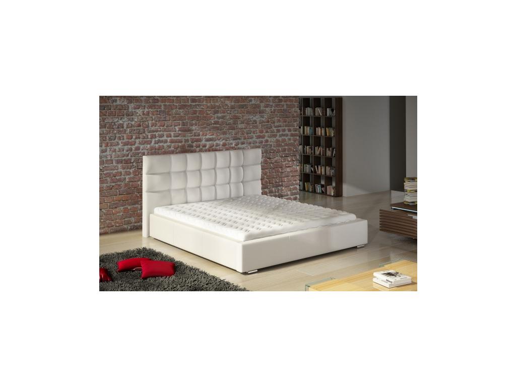 c5cdd0c62171 Biela manželská posteľ Dolores - mojnabytok.sk