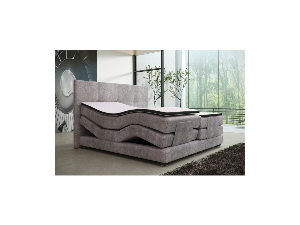 2a18157405f5 Dokonalá manželská posteľ Mario Electric Hard-top - mojnabytok.sk