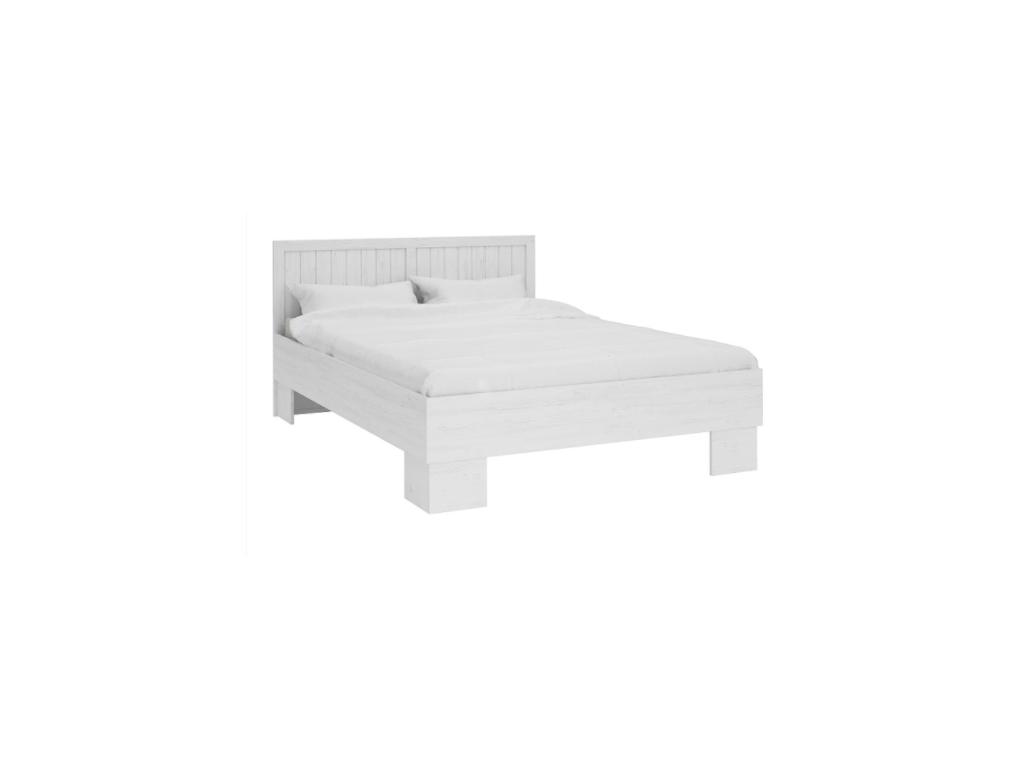 79768d7c30b4 Biela manželská posteľ Provance L1 - mojnabytok.sk