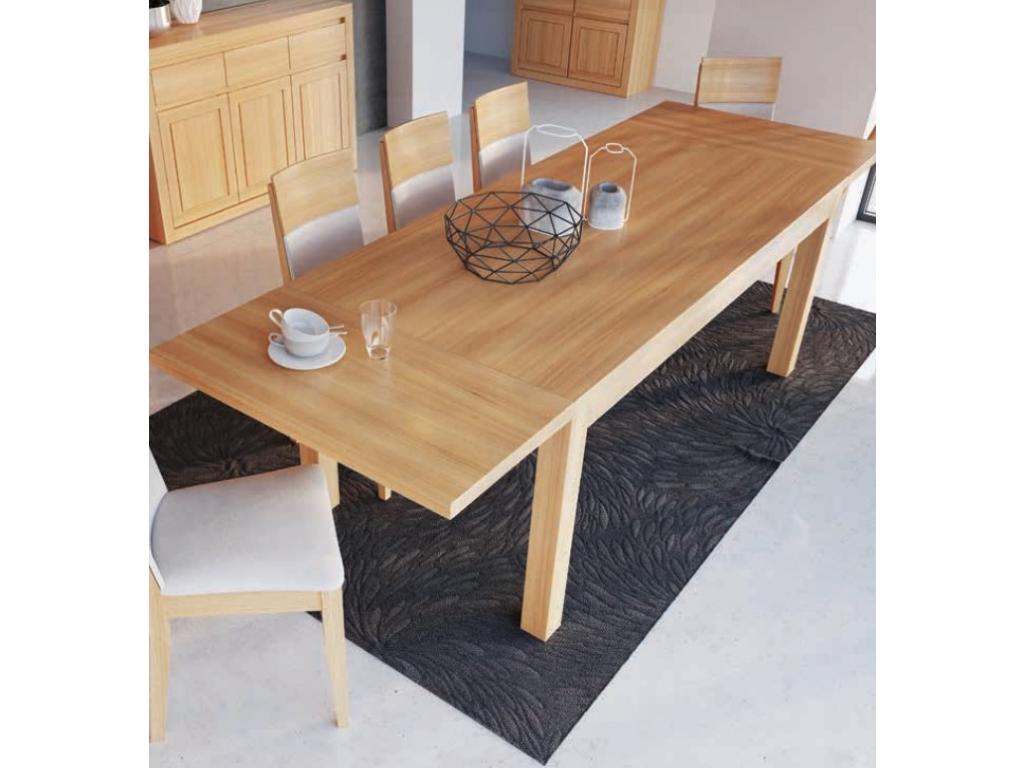 3038311f691f Nádherný jedálenský stôl - masív ST302   S90 - hrúbka 4cm   dub ...