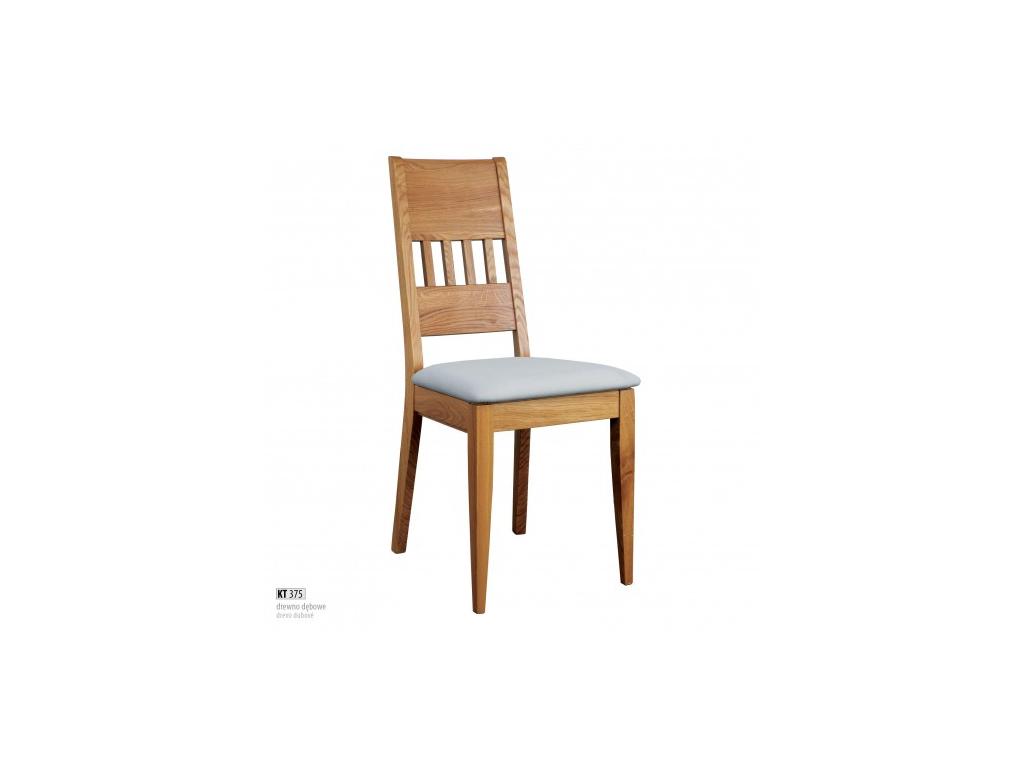 3b1f224e95ce Pohodlná jedálenská stolička - masív KT375   dub - mojnabytok.sk