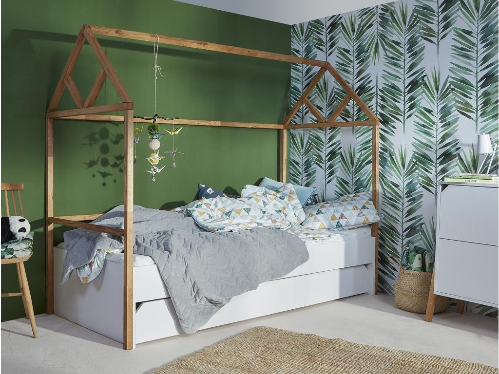 originalna biela detska postel LOTTA