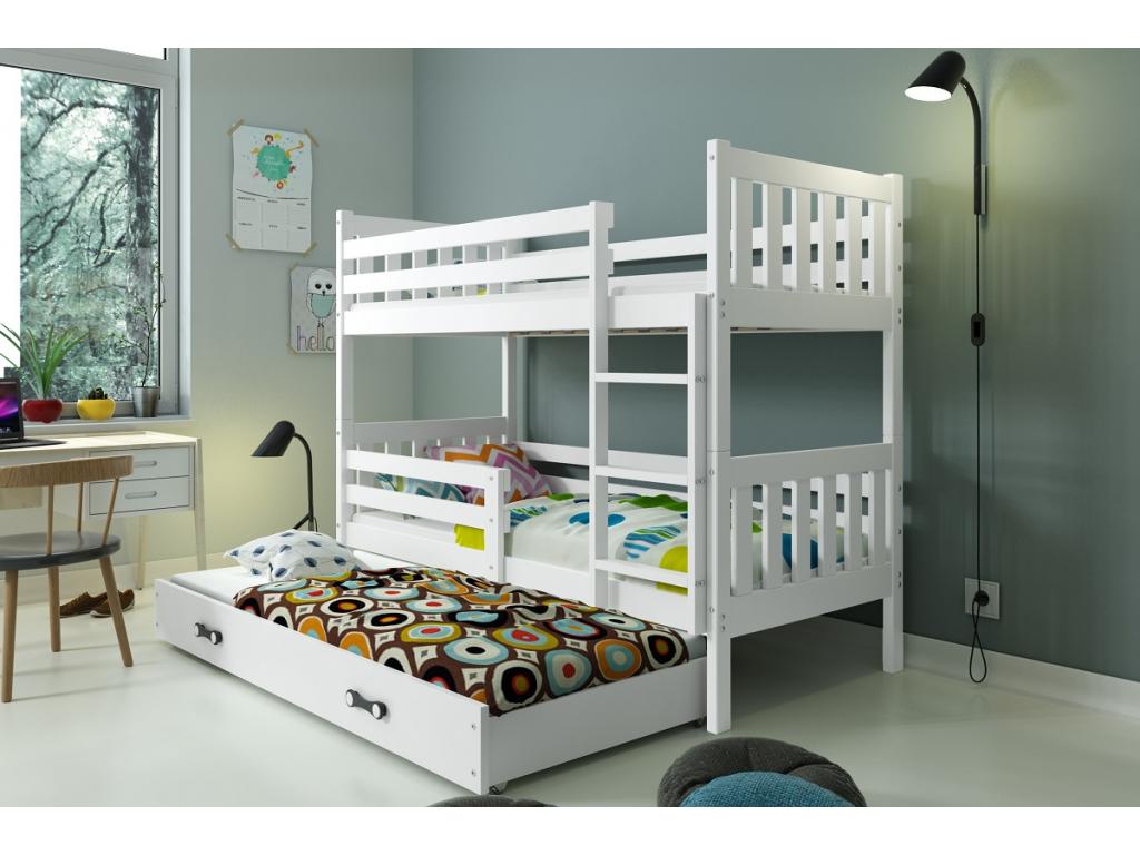 Detská poschodová posteľ Carino 8