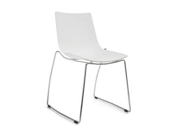 Jedálenská stolička Montorino biela