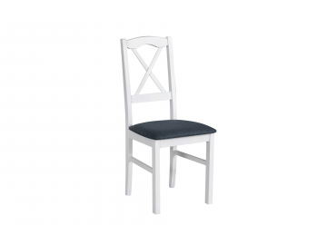moderna biela jedalenska stolicka NILO 11