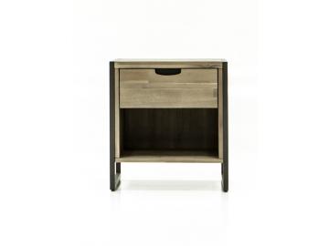 dreveny nocny stolik FLOW FLO B02A detail