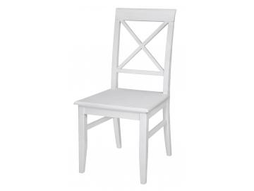 LA098 drevena jedalenska stolicka biela LATINA