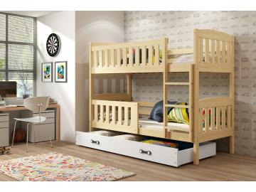Detská poschodová posteľ Kubuš borovica 9