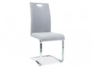 Stolička H790 sivá